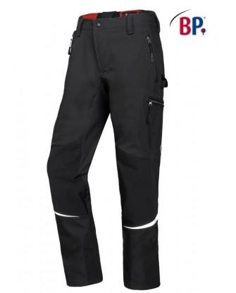 Pantalon soft-shell noir pour homme