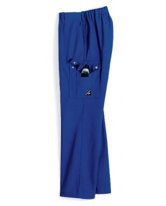 Pantalon de travail homme résistant et élastique au dos