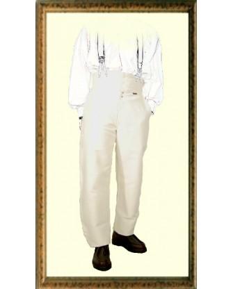 Pantalon Largeot en moleskine à tirant - Le Laboureur