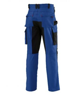 Pantalon bleu de travail avec genouillères BP Performance