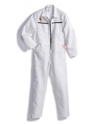 Combinaison rallye blanche pur coton