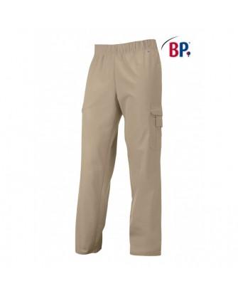 Pantalon unisexe poly-coton en couleurs avec taille élastique