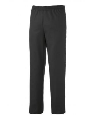 Pantalon unisexe noir pour cuisine ou service